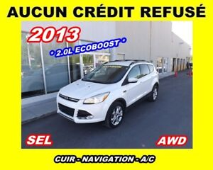 2013 Ford Escape SEL*AWD*ECOBOOST*