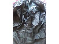 Men's small rainwear trousers & jacket