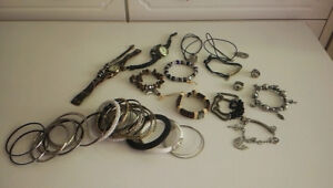 Belt, Bracelets, Necklaces, Rings, Hair accessories all in $10!!