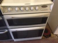 White gas cooker 50cm...Mint Free delivery