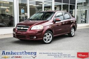 2010 Chevrolet Aveo LT - SUNROOF, CRUISE CONTROL, CD PLAYER!