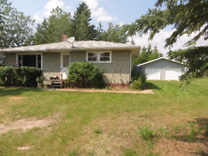 House with Double Garage - in Livelong, Sask.
