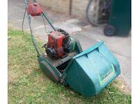 Qualcast Suffolk Punch petrol lawn mower