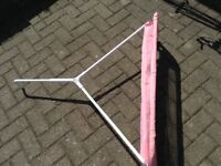 Lindham Bed guard in pink
