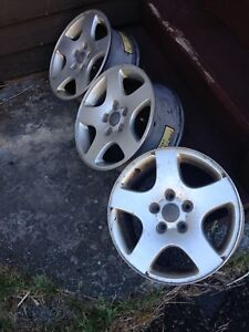 3x16 alloy rims