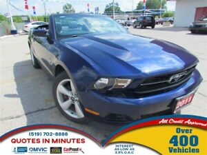 2011 Ford Mustang CONVERTIBLE | LEATHER | SUMMER READY