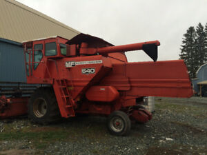Combine and Hay Bailer for sale-Matheson Ont.