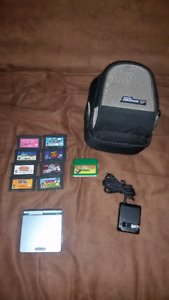 Gameboy Advance SP AGS 101 plus 9 Games