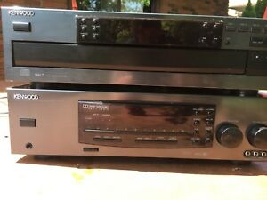 Kenwood stereo and speakers