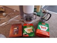Filter coffee machine and spare filters