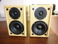 Accoustic Solutions Bookshelf Speakers