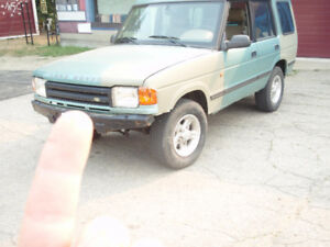 1998 Land Rover Discovery Wagon