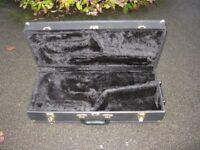 Empty Alto Sax Case