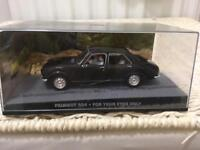 1:43 Peugeot 504 - JAMES BOND COLLECTION -For Your Eyes Only - FABBRI
