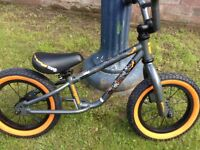 Boys balance bike in excellent condition. Mongoose orange and black.
