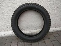 MOTORCYCLE TRIALS-PATTERN REAR TYRE, Size 4.00 x 18 (110/90 x 18)