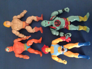 He Man and Thundercats toys
