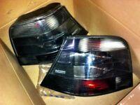 VW golf mk4 hella magic colour rear smoked lights