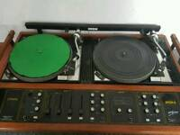 Citronic Avon II Twin Vinyl desk