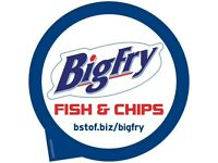 Full time and part time fryers required for our busy fish and chip shop
