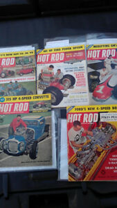 "1961-1969 ""Hot Rod"" magazines (40)"