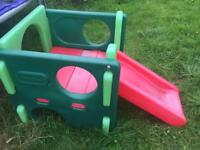 Little tikes adventure cube with slide