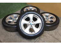 "Genuine BMW 3 Series F30 16"" Alloy wheels 5x120 Efficient Dynamics Alloys"