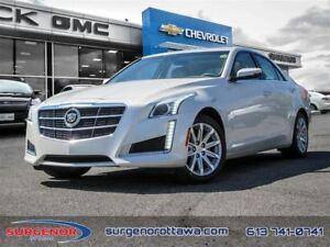 2014 Cadillac CTS 2.0L Turbo AWD Luxury - $236.21 B/W