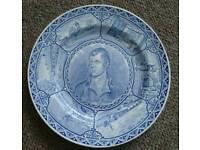 Robert Burns plate
