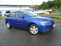 MAZDA 3TS 1.6,GREAT COLOUR COMBO, LOW MILES 58k .. PRICED TO SELL...
