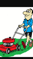 Lawn mowing services offered