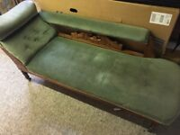 Antique Chaise Lounge, in need of some repair