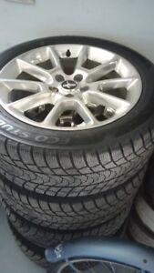 P225/45R18 studded winter tires 2011 Mustang GT