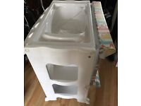 Baby Changing Station with built in Bath and drain tube