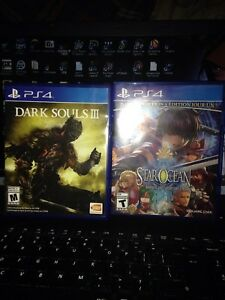 Star ocean &a Dark souls 3 III price drop!!