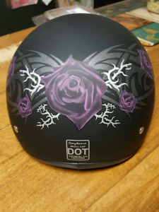 Ladies Daytona Motorcycle Helmet