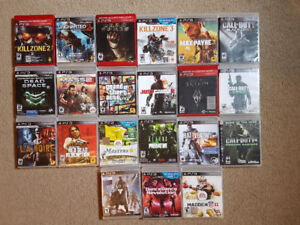 Sony Playstation 3 -  20 games for Sale