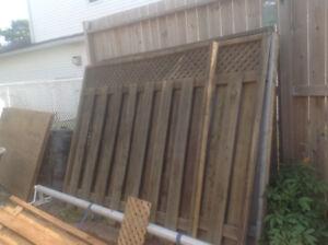 6 x 8 Fence Panels
