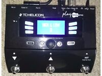 TC Helican Play Acoustic vocal harmonizer / effects and acoustic guitar FX, vgc, inc p+p