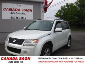 2010 Suzuki Grand Vitara JX ,AWD, 114km !! 12M.WRTY+SAFETY $8990