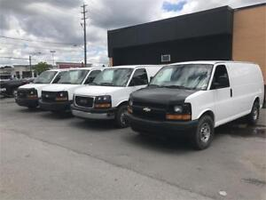 2014 GMC Savana Cargo Van EXTENDED,4.8L,cert/wrrnty available