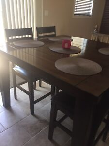 Dining set - wood
