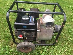 "3"" gas powered trash pump"