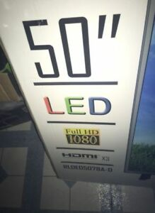 "50"" LED RCA full HD TV 1080P Brand New Sealed box"