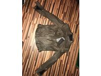 Ladies Zara leather jacket - new (with tags)