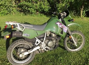 Dirtbike for Sale: 2000 Kawasaki KLR 650
