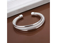 925 Sterling Silver Fashion meteor - New - jewellry bangle bracelet