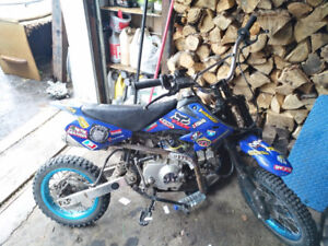 Moto Cross Dirt 125cc 4 temps Loncin