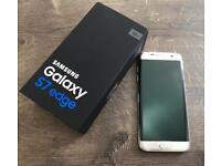 BRAND NEW Unlocked Silver Samsung Galaxy S7 edge 32gb