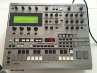 Yamaha RS7000 sampler sequencer workstation with AIEB2 Output Expansion Board